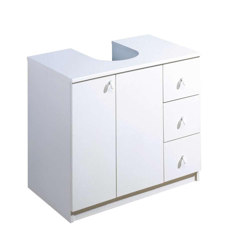 taille 40 outlet vente chaude authentique Mobile per Lavabo con Ante e Cassetti 70 x 46 x 62 cm