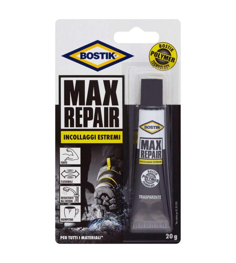 Adesivo per riparazioni Bostik Max Repair 20 gr