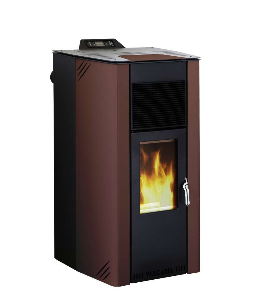 Offerta Stufa A Pellet Power 14, 5 Kw Rossa