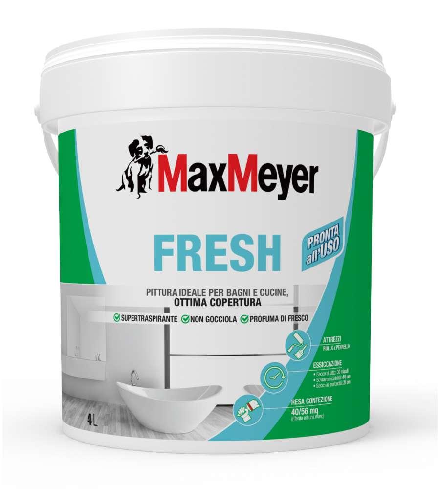 Pittura Fresh Super Traspirante Bianco 4 L
