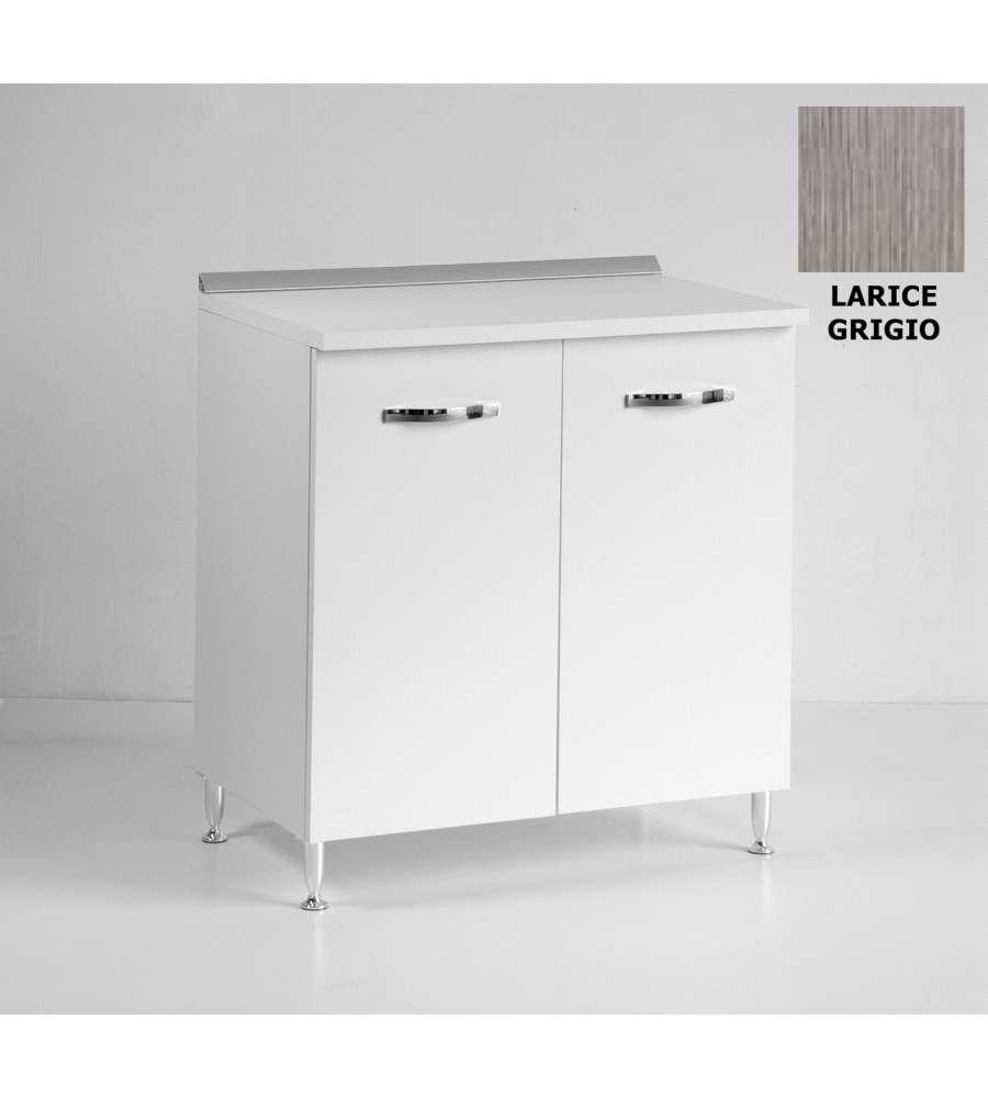 Base Cucina 80 Cm Larice Grigio