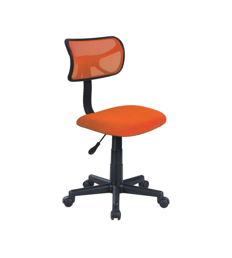Sedie Da Ufficio Arancione.Sedia Ufficio Con Ruote Arancione