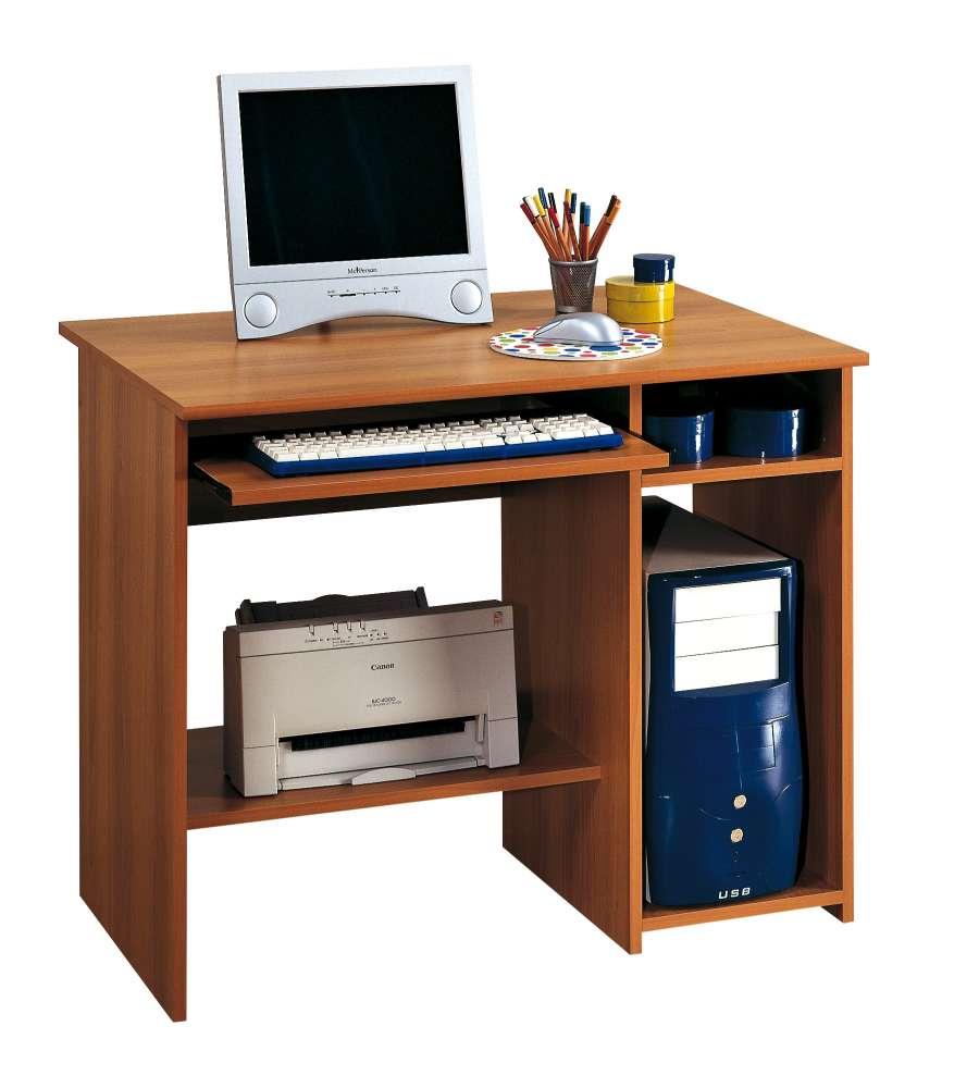 Scrivania Porta Computer.Scrivania Porta Computer Noce 90 Cm