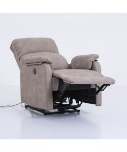 Poltrona con recliner elettrico Beautiful