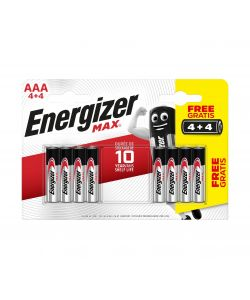 Batterie Energizer Max ministilo AAA 4+4