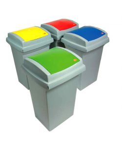 BIDONE RECYCLING        50 VERDE   43x39 h 68  ICS