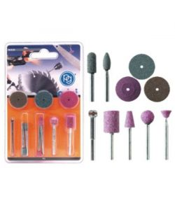 ACCESSORI SMERIGLIATURA KIT Pz 10        M.8230 PG