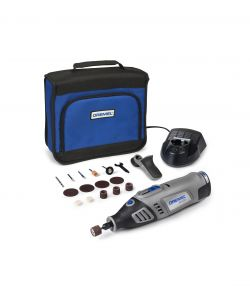 Dremel a Batteria Li Ion 7,2 V + 15 Accessori e Bag