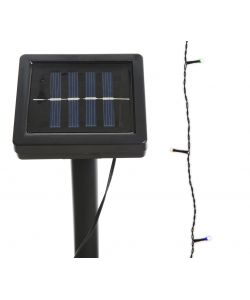 100 luci LED multicolor energia solare